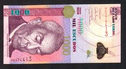 CAPE VERDE (CABO VERDE) :  1000 Escudos - 2007 - UNC - Capo Verde