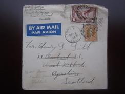 1938 CANADA AIRMAIL COVER To SCOTLAND - 1937-1952 Règne De George VI