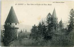 FRANCIA  SAÔNE ET LOIRE  CLUNY  Tour Fabri Et Clocher De L'Eau Bénite - Cluny
