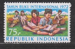 Indonesie 715 MNH Jaar Van Het Boek Year Of The Book 1972 ;NOW MANY STAMPS INDONESIA VERY CHEAP - Indonesië