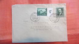 DR Bis 45: Brief Mit 2 Versch. 6+4 Pf Markenaus Berlin NW7 Nach Sigmar-Schönau I Vom 3.3.41 Knr: 674, 760 - Deutschland