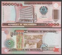 MOZAMBICO (MOZAMBIQUE, MOCAMBIQUE) : 50000 Meticais - 1993 - P138 - UNC - Mozambique