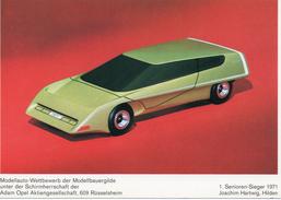 OPEL - Modellstudie / Sieger Wettbewerb 1971 Senioren - PKW