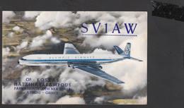 GRECIA  1962 - Olympic Airways - Aereo In Volo - Radio Amatoriale