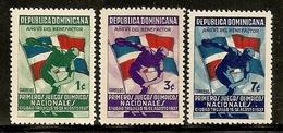 REPÚBLICA DOMINICANA - Yvert #300/02 - MNH ** - República Dominicana