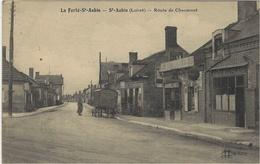 LA FERTÉ SAINT AUBIN (45) - Route De Chaumont - Ed. L. Lenormand, Orléans - La Ferte Saint Aubin