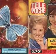 Télé-Poche N° 120 Avril 1968 Speakerine Interchangeables; Jacqueline Holtz; Roman-photos Sébastien Parmi Hommes; Hubert - Kino/Fernsehen