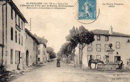 SAINT PAULIEN  L'entrée En Ville Par La Route De Craponne - Andere Gemeenten