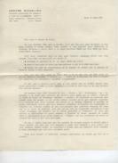 RELIGION - JEAN MARIE LUSTIGER  - PARIS  - CENTRE RICHELIEU  - Lettre Aux Etudiants Catholiques - 1965 - Faire-part