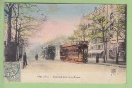 CROIX ROUSSE, Lyon : Tramway Boulevard De La Croix Rousse. 2  Scans. Edition S F - Autres