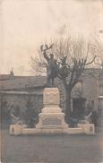 ¤¤  -  Carte-Photo Non Située   -  Monument Aux Morts   -  ¤¤ - Cartes Postales