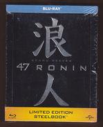 AC - 47 RONIN KEANU REEVES BLURAY LIMITED EDITION COLLECTOR'S STEELBOOK 2013 UNOPENED BRAND NEW - Ciencia Ficción Y Fantasía