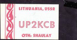 LITUANIA  1963 - Shaulay - Pedagogia - Radio Amatoriale