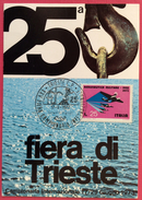 1973 TRIESTE XXV FIERA CAMPIONARIA INTERNAZIONALE - Ausstellungen