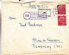 République Fédérale - Lettre De 1959 ° - Oblitération Wetslar - Cachet Spécial Waldhof-Elgershausen - BRD
