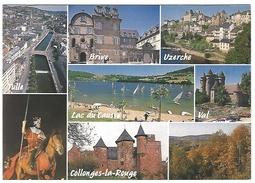19 TULLE BRIVE UZERCHE LAC-DU-CAUSSE CHATEAU-DE-VAL COLLONGES-LA-ROUGE MONEDIERES CHEVALIER - Autres Communes