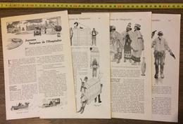 ANCIEN DOCUMENT 1910 JOYEUSES SURPRISES DE L HOSPITALITE HENRY MORIN - Old Paper