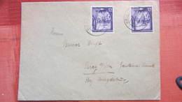 Dt Besetzg: Fern-Brief Generalg. 1 Gr Blauviolett Aus Krakau Nach Parey Vom 14.1.43 Knr: 67 (2) - Deutschland
