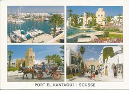 PORT EL KANTAOUI - SOUSSE.. (scan Verso) - Tunisie