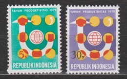 Indonesie 682-683 MNH Produktiviteitsjaar Voor Azie 1970 ; NOW MANY STAMPS INDONESIA VERY CHEAP - Indonesië