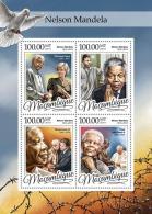 MOZAMBIQUE 2016 ** Nelson Mandela Princess Diana M/S - IMPERFORATED - A1650 - Koniklijke Families
