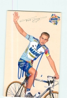 Frank VANDENBROUCKE , Autographe Manuscrit, Dédicace  . 2 Scans. Lire Descriptif. Cyclisme. Mapei Bricobi 1998 - Cycling