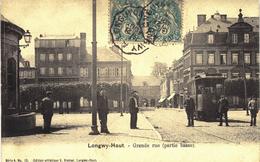 Carte Postale Ancienne De LONGWY Haut - Longwy