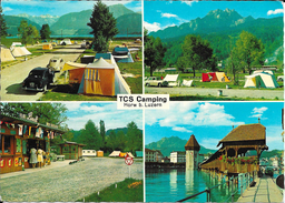 Zwitserland/Die Schweisz/Suisse, Horw, Bei Luzern, TCS Camping-Platz, 1961 - LU Lucerne