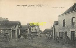 44 Riaillé, La Poitevinière, Route De Chateaubriant à Ancenis, Animée, Troupeau De Vaches...., Carte Pas Très Courante - Sonstige Gemeinden