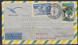 Brazil 1950 Airmail Letter From Brazil To Yugoslavia (Beograd) - Poste Aérienne