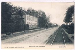 Oostmalle - Steenweg Naar Turnhout 1907  (Geanimeerd) - Malle