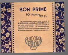 (orchies, Nord)  Bon-prime 10 Kg CHICOREE LEROUX (PPP4077) - Publicités