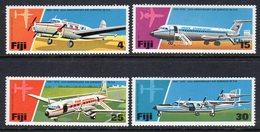 FIJI - 1976 AIR SERVICES ANNIVERSARY SET (4V) FINE MNH ** SG 532-535 - Fiji (1970-...)