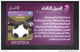 LIBYA RARE PHONECARD