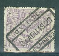 "BELGIE - OBP Nr TR 111 - Cachet  ""OSTENDE - EXPRESS"" - (ref. AD-8867) - 1915-1921"