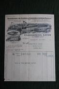 Facture Ancienne - LOUVIERS, Etablissements A.VEDY , Manufacture De Cordes Et Courroies. - 1900 – 1949
