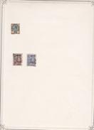 Siam - Collection Vendue Page Par Page - Timbres Oblitérés / Neufs * (avec Charnière) -Qualité B/TB - Siam