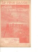 Partition-le Reve Passe  -    - Paroles:A. FOUCHER  Musique: CH. Helmer - Non Classés