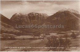 The New Road Glencoe (near The Scene Of The Massacre Of 1692) - Scotland