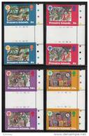 Pitcairn Islands MNH Scott #188-#191 Set Of 4 Gutter Pairs Christmas And International Year Of The Child - Timbres
