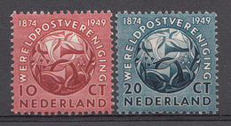 Pays-Bas 1949  Mi.nr: 544-545  75.Jahre Weltpostverein UPU  NEUF Avec CHARNIERE / Ongebruikt - 1949-1980 (Juliana)