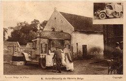 Auto - Chapelle De L' Armée Belge  (93923) - Weltkrieg 1914-18