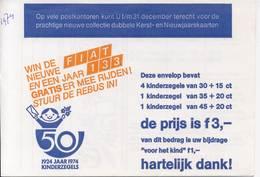 1063 / Blok Kinderzegels 1974 (100% Postfris / MNH) Met Envelop En Rebus - 1949-1980 (Juliana)