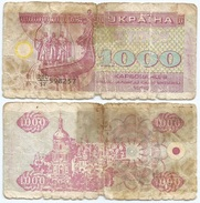 Ucrania - Ukraine 1.000 Karbovantsiv 1992 Pick 91.a Ref 1243 - Ucrania