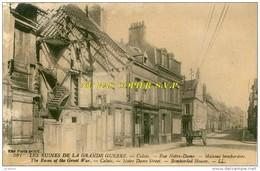 """(62) Calais - """"Les Ruines De La Grande Guerre"""" - Rue Notre-Dame - (L.L. 501) - (602) - Calais"""