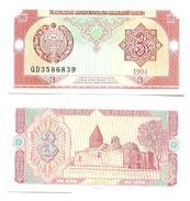 Uzbekistan 3 Sum 1994 Pick 74.a UNC - Uzbekistán