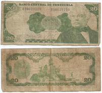 Venezuela 20 Bolivares 1984 Pick 64 Ref 1246 - Venezuela