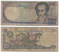 Venezuela 500 Bolivares 1998 Pick 67.f Ref 1245 - Venezuela
