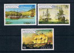 Anguilla 1981 Schiffe Mi.Nr. 427/28/29 ** - Anguilla (1968-...)