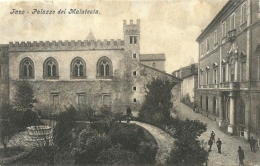 Fano(Pesaro Urbino)-Palazzo Dei Malatesta - Fano